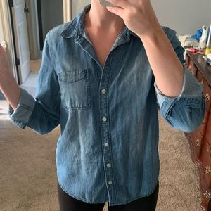 Old Navy Chambray Button Down